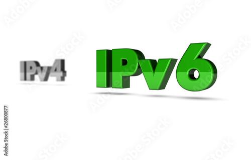 IPv6 & IPv4 3d