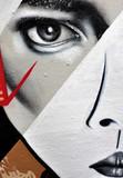 Fototapeta wyrażenie - twarz - Graffiti