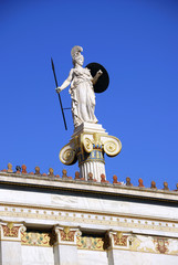 Statue of Athena (Minerva) (Athens, Greece)