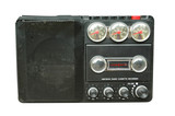 old black radio