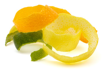 Lemon peel, orange, lime.