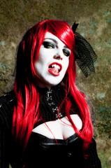 Redhead vampire