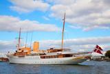 The Danish Queen's Naval Yacht