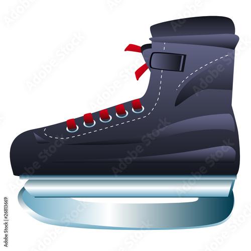 Chaussure de patin à glace de hockey