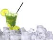 Mojito ice drink