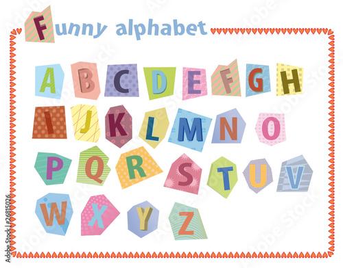 alphabet lettres capitales pour enfant fichier. Black Bedroom Furniture Sets. Home Design Ideas