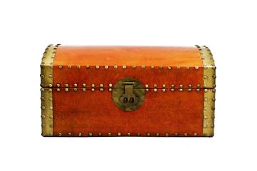 Treasure chest closed