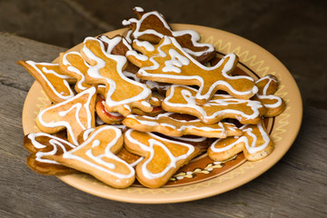 Christmas cookies. In my portfolio you'll find similar images