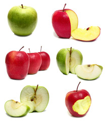 apple red and green