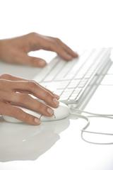 mani con mouse e tastiera2