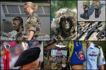 montage militaire