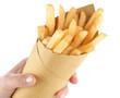 Patatine fritte nella carta