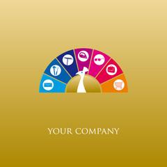 logo entreprise, services à domicile
