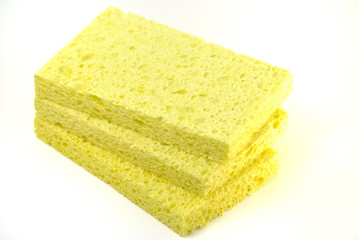 Yellow sponges
