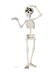 skeleton cartoon what was that