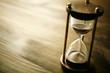 Leinwanddruck Bild - hourglass