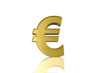 The Euro sign € in gold