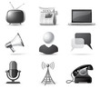 Communication icons | B&W series