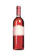 Wein Flasche rose