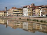 Am Arno, Pisa,Toskana,Italien poster