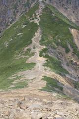 阿弥陀岳への道