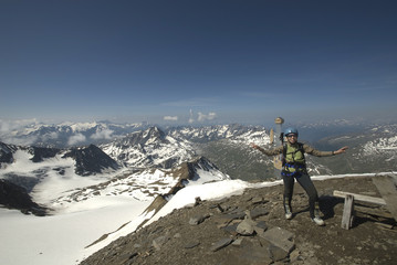 summit (pizzo tresero - valtellina - lombardia)