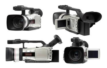 Semi professional camcorders set