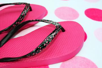 Pink flip-flop