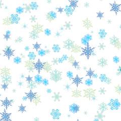 nevicata sfondo bianco