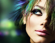 Beautiful Fashion Woman Face.Perfect Makeup - 26866892
