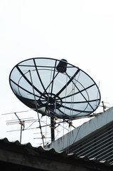 Satellite or TV  antenna ???