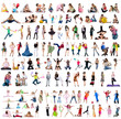 Big collection of a people photos