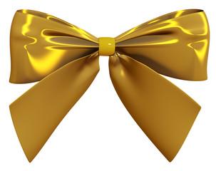 Goldene Schleife 3d render