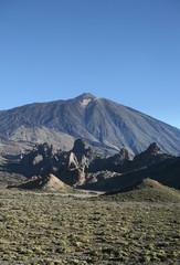 The highest mountain in Spain El Teide