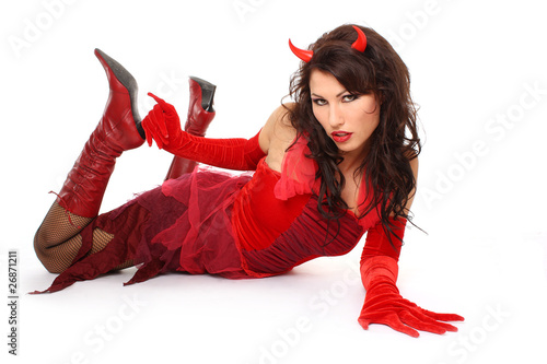 sexy Teufelin