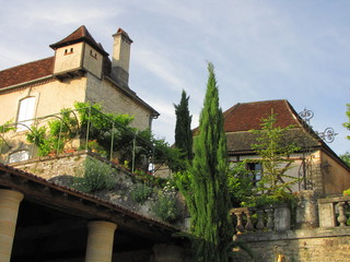 Village de Plazac , Périgord Noir, Aquitaine