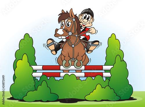 Papiers peints Equestre Horse Show Jumping