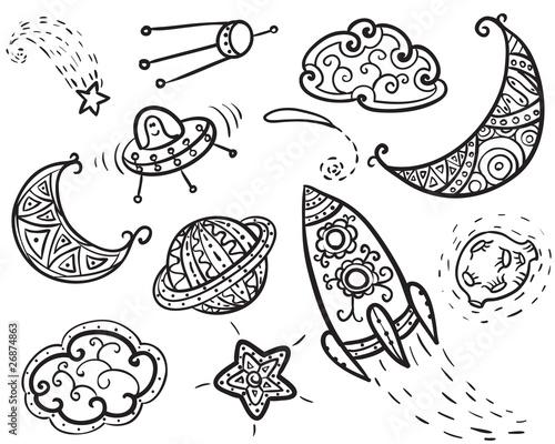 Universe icons