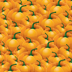 Pumpkin vector Background