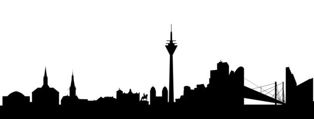 Düsseldorf Silhouette