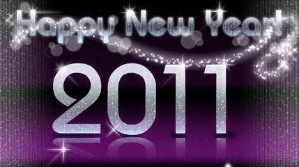 HNY 2011 violet