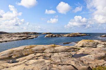 Rocky sea archipelago