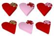giftbox heart shape
