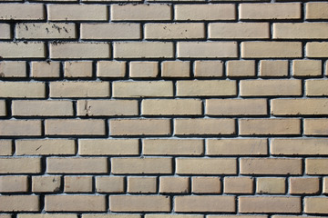 New brick wall.