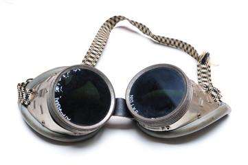 Alte Schweisserbrille