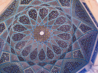 Ceiling of Tomb of Hafez, Shiraz