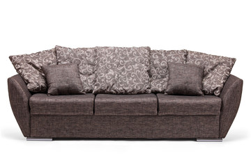 Studio shot of a modern sofa