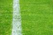 Fußball Rasen mit Linie - Soccer Grass