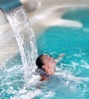 Spa Hydrotherapy Woman Waterfa...