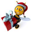 Abeille et cadeau